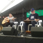 Beverley and Al Young in the Bluegrass Concert, Auckland Folk Festival 2017