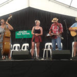 Pipi Pickers and friends in the Bluegrass Concert, Auckland Folk Festival 2017